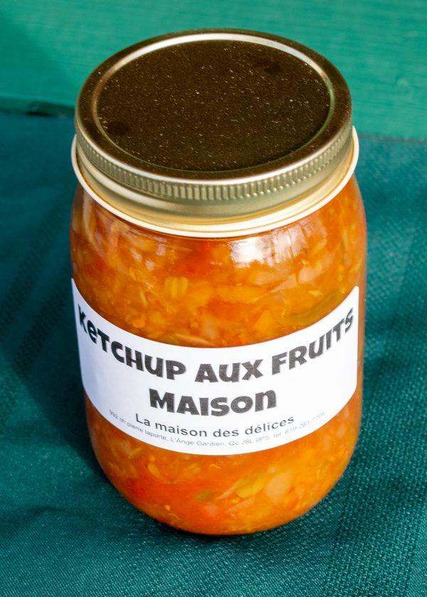 Ketchup aux fruits maison 500ml