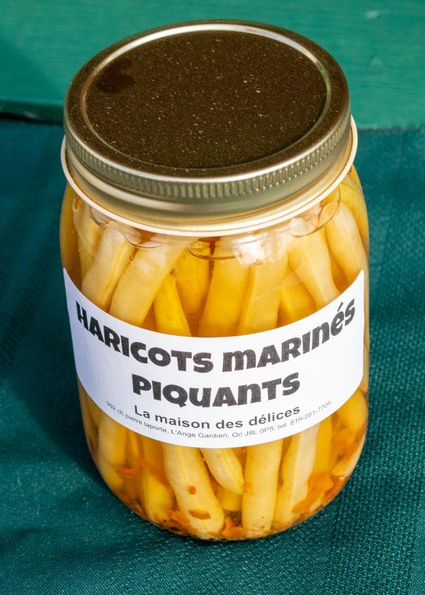 Haricots marinés piquants 500ml