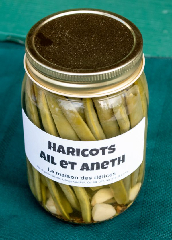 Haricots ail et aneth 500ml