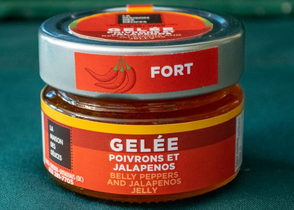 Gelée poivrons et jalapeños fort