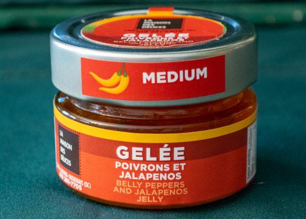 Gelée poivrons et jalapeños moyen